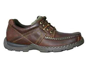 Hush Puppies Mens Casual Shoes Hawkins Brown Grain Leather H12896022