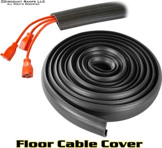 29 5' Triple Floor Cable Cover Extension Cord Wire Protector Shield DH Cop 3