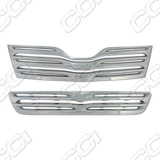 2009 2012 Toyota Venza Chrome Grille Grill Insert Horizontal Trim