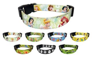 Ariel Snow White Dog Pet Puppy Walt Disney Princess Collar Matching Leash Set