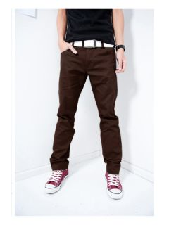 New Style Mens Slim Fit Trendy Fashion Hot Long Casual Pants
