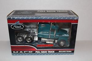 Mack Truck Pull Back Toy Rawhide with Sleeper Bulldog Tough New in Box