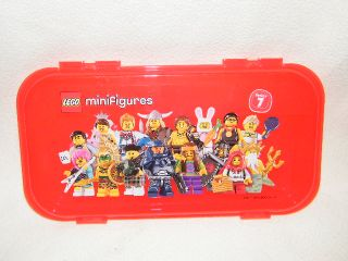 New Lego Minifigures Storage Case Series 7 Pencil Display Holder