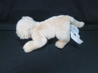 Lifelike IKEA Golden Retriever Puppy Dog Minnen Hund Soft Plush Stuffed Animal