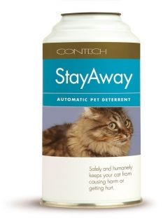 Contech Stayaway Automatic Cat Pet Deterrent Motion Sensor Refill Can Spray