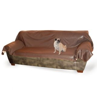 KH Mfg Dog Cat Pet Hair Dirt Leather Lover's Couch Sofa Cover Protector