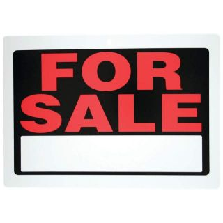 New for Sale Sign Red White Home Auto Boat Car RV Motorcycle ATV Trailer Vehicle