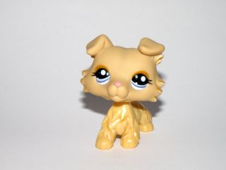 Cream Collie Puppy Dog 1194 Littlest Pet Shop LPS