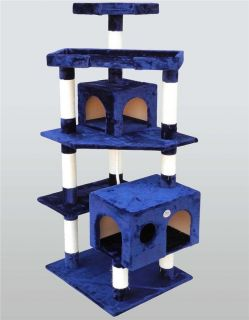 Cat Tree House Toy Bed Scratcher Post Furniture F2022