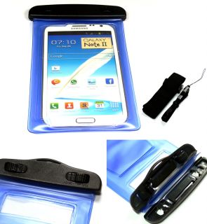 Premium Waterproof Skin Case Bag Pouch for Samsung iPhone LG Smart Cell Phone
