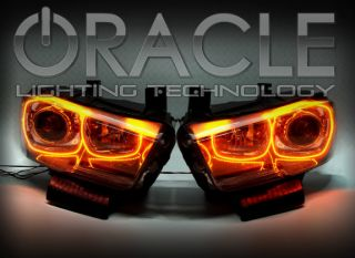 2011 2012 Dodge Charger Red Headlight Halo Kit LED SMD Halos Fits RT SRT SE SXT