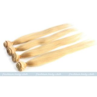 "1XBUNDLE 14"" 28"" Remy Straight 100 Real Human Hair Weaving Weft Extensions 50g"