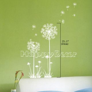 Dandelion Decals Mural Wall Art Decor Stickers 25