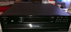 Onkyo Compact Disc Changer CD Player DX C340 6 Disc Carousel CD Exchanger