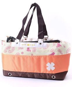 Pet Dog Cat Nylon Portable Bag Travel Carrier Purse Tote for Small Dogs Only