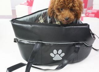 New Leather Pet Bag Dog Puppy Cat Carrier Dog Travel Bag for Small Dogs