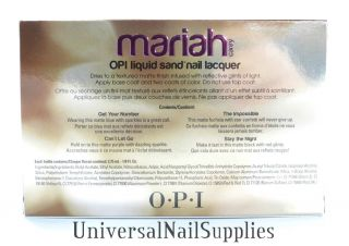 OPI Mariah Carey Nail Care, Manicure & Pedicure