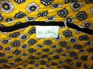 Vera Bradley Yellow Bird Large Tote Bag with Wristlet Retired Pattern