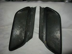 Mopar 1970 74 Dodge Challenger Hood Scoops and Inserts