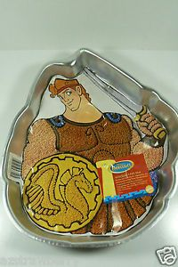 Wilton Disney Hercules Bake Birthday Party Supplies Cake Pan New $0 Shipping