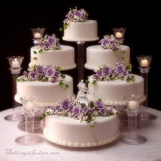 6 Tier Wedding Cake Stand Stands 6 Tier Candle Stand