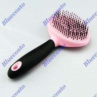 Pet Dog Puppy Cat Safe Soft Pins Grooming Brush Comb Fur Hair Shedding Comb New