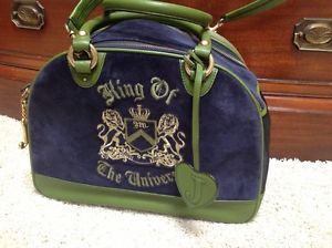 King of The Universe Juicy Couture Small Dog Carrier Great Condition