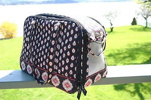 Vera Bradley Dog Cat Pet Carrier Tote Purse Bag EUC