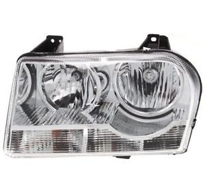 New Headlight Lamp Clear Lens Halogen Driver Left Side Sedan CH2502218 4805757AK
