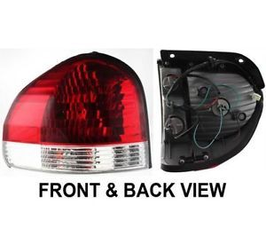 New Tail Light Lamp Clear Red Lens Driver Left Side HY2800133 9240126500