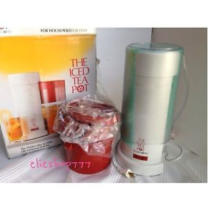 The Ice Tea Pot Electric Tea Maker by Mr Coffee 2 Quarts Iced Tea