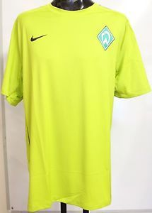 Werder Bremen Green Football Training Shirt by Nike XXL Brand New with Tags