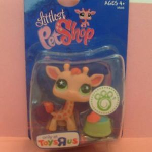 Littlest Pet Shop LPS Toys R US RARE Giraffe 943 VHTF