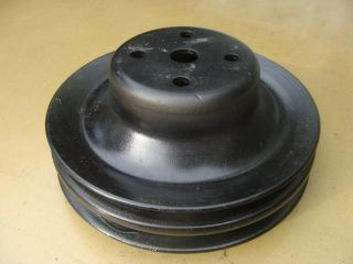Mopar Dodge Plymouth Slant 6 Air Conditioning Water Pump Pulley