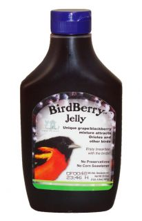 Birdfeeder Oriole Bird Berry Jelly for Bird Feeder