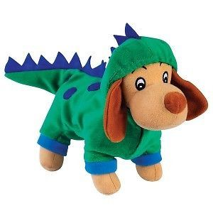 Zanies Halloween Costume Hound Plush Dog Toy Dogzilla