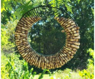 Birdfeeder Whole Peanut Squirrel Bird Feeder Wreath