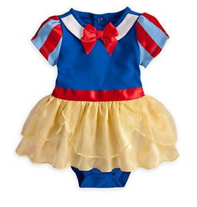 Disney Authentic Snow White Princess Baby Dress Outfit Costume Size Toddler 2T