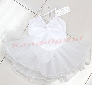 Girls Ballet Costume Tutu Skirt Kids Party Leotards Dance Dress Age 3 9 Years