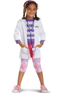Disney Doc McStuffins Doc Deluxe Toddler Halloween Costume