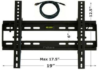 LCD LED Plasma TV Bracket Flat Tilt
