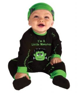 Newborn Infant Baby Boys Frankenstein Halloween Fancy Dress Costume