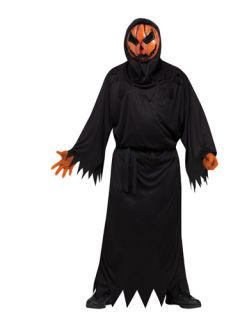 Evil Bloody Pumpkin Scary Mens Halloween Costume