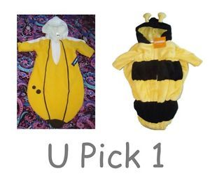 Baby Boys Girls Unisex Halloween Costume Bunting 1 Piece Coat Lined Warm