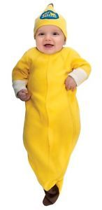 Newborn Infant Baby Boys Girls Banana Halloween Costume Newborn
