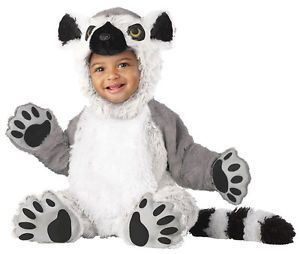 Infant Babys Animal Planet Lemur Halloween Holiday Costume Party 12 18M