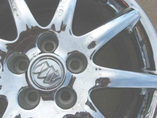 Buick Lucerne Factory 17x7 Chrome Wheel Rim 2006 2007 2008 2009 2010 Used