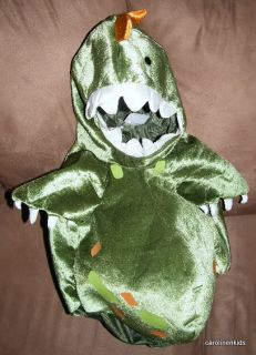Babystyle Green Dinosaur Halloween Baby Toddler Costume 12 18 Months Plush