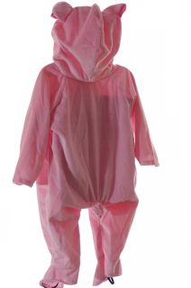 Baby Toddler Infant Girls Pink Pig Piggy Piglet Halloween Costume Warm Small New
