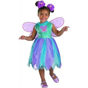Abby Cadabby Classic Costume Baby Toddler Fairy Halloween Fancy Dress
